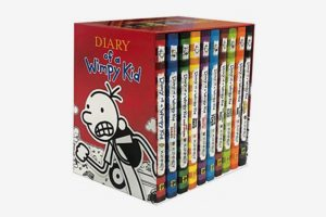 Diary of a Wimpy Kid by Jeff Kinney - Hardcover Set (Books 1-10)
