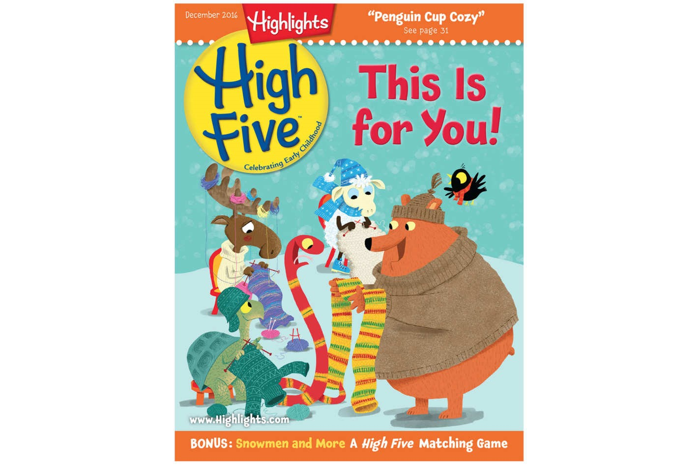 """""""High Five"""" one-year subscription"""