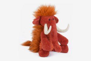Jellycat Baggles Winston Woolly Mammoth Stuffed Animal
