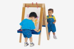 Kaplan Toddler Adjustable Easel