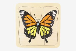Montessori Evolution of Butterfly Jigsaw Puzzle