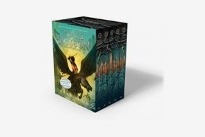 Percy Jackson and the Olympians by Rick Riordan - Boxed Set