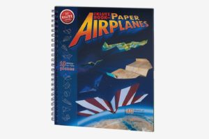 The Klutz Book of Paper Airplanes Craft Kit